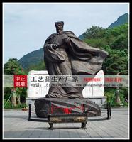 诸葛亮銅雕像