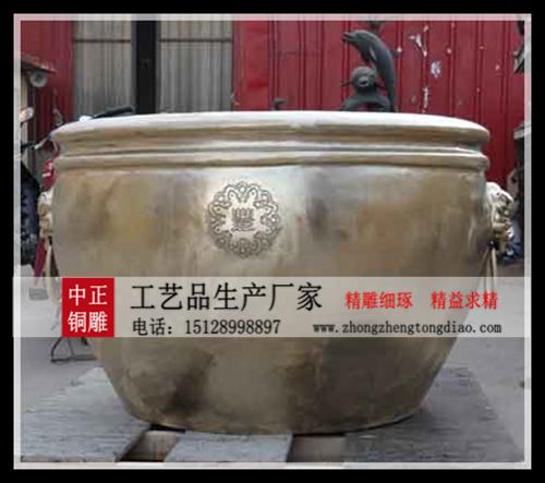 铸铜故宫大缸