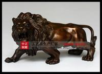 銅雕上山狮生产厂家定做报价黄铜青铜紫铜上山狮子