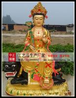 銅雕文殊菩萨佛像